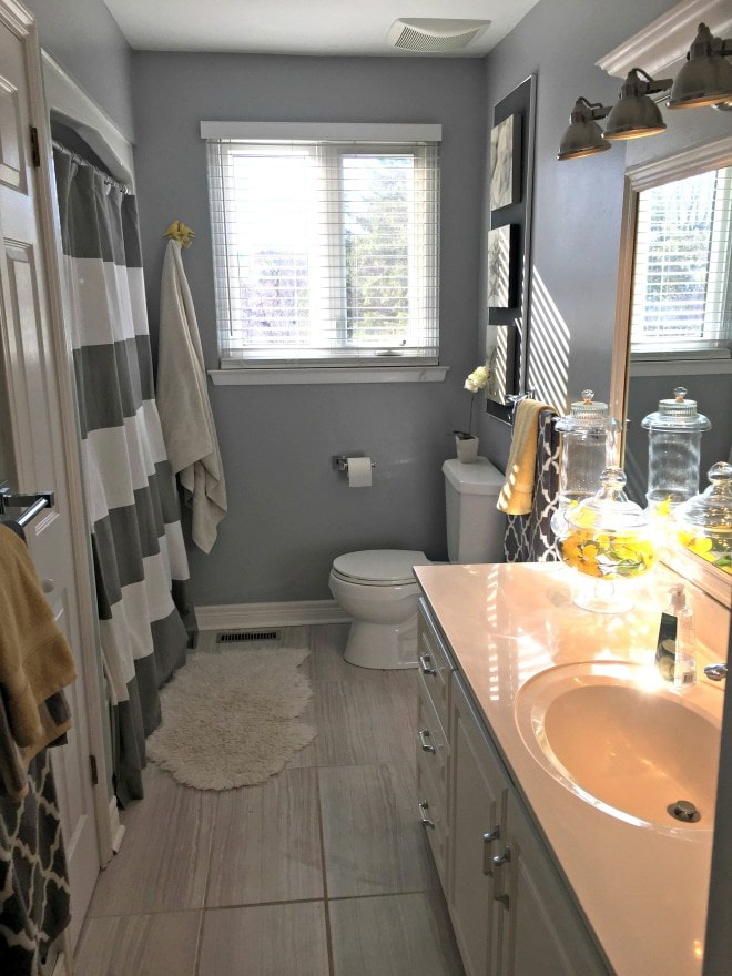 Bathroom remodel ideas: Kids Bathroom Remodel after