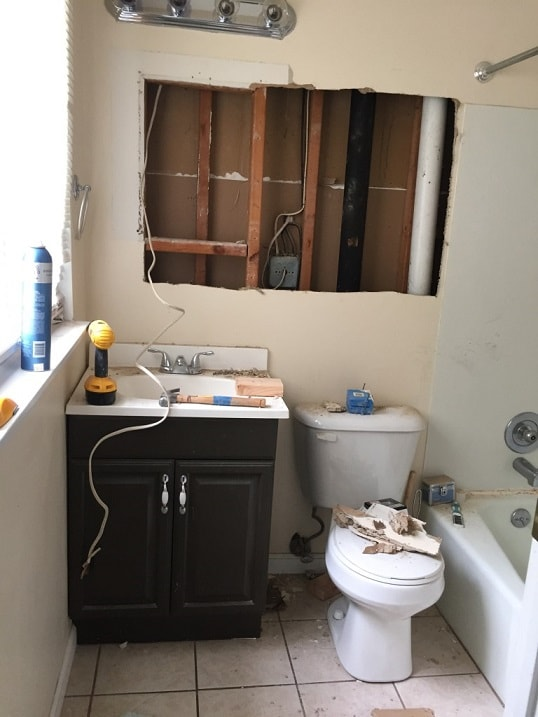 Bathroom remodel ideas: Master Bathroom Makeover before