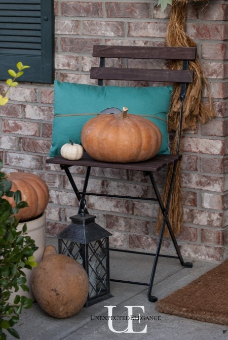 DIY Fall Porch Decorating Ideas: Natural Fall Porch
