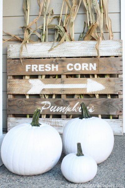 DIY Fall Porch Decorating Ideas: Neutral Fall Porch