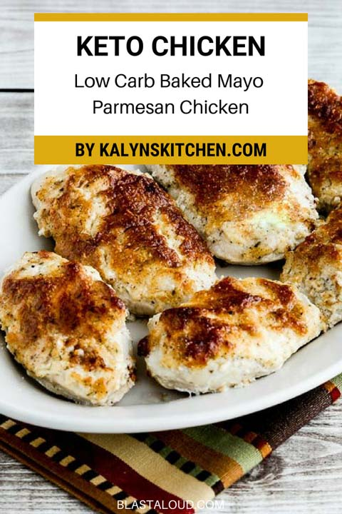 Keto Chicken Dinner Recipes: Low-carb Baked Mayo-parmesan Chicken