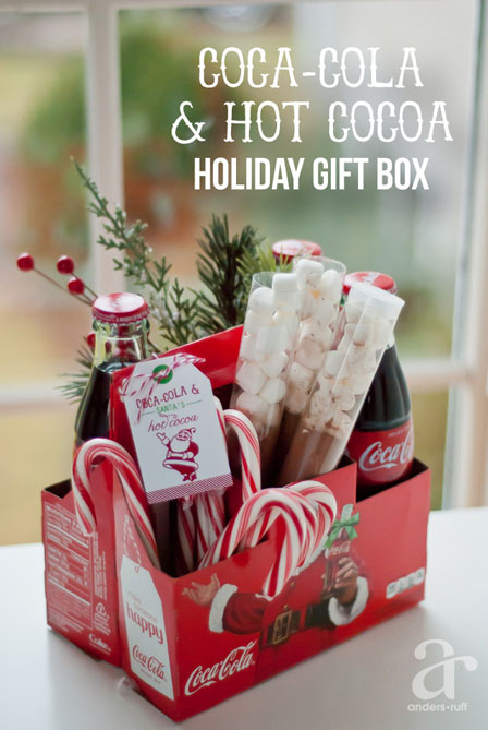DIY Gift Baskets For Men: Coca-cola Gift Basket