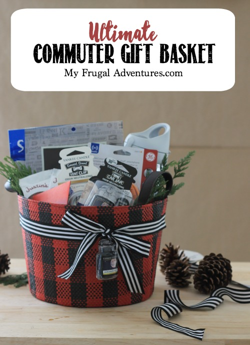 DIY Gift Baskets For Men: Commuters Gift Basket