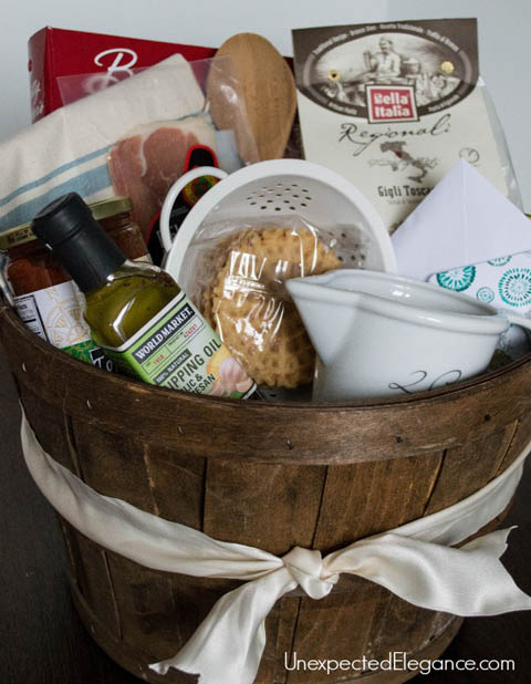 DIY Gift Baskets For Men: Cooking Themed Gift Basket