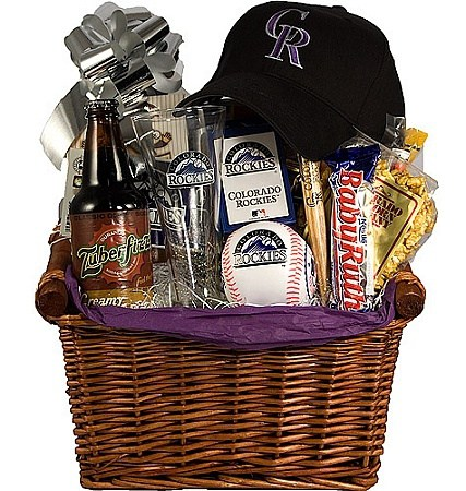 DIY Gift Baskets For Men: For the Baseball Lovers