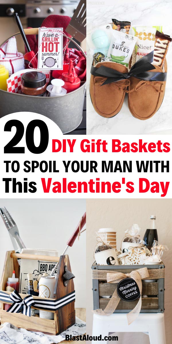 Gift baskets for men for Valentines