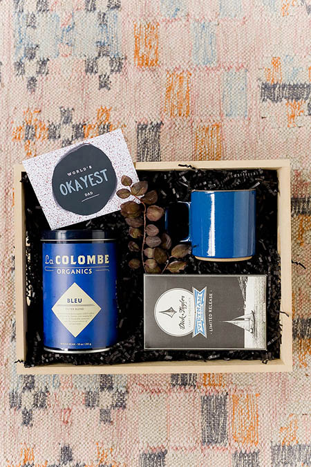 DIY Gift Baskets For Men: Gourmet Coffee Lover Gift Set