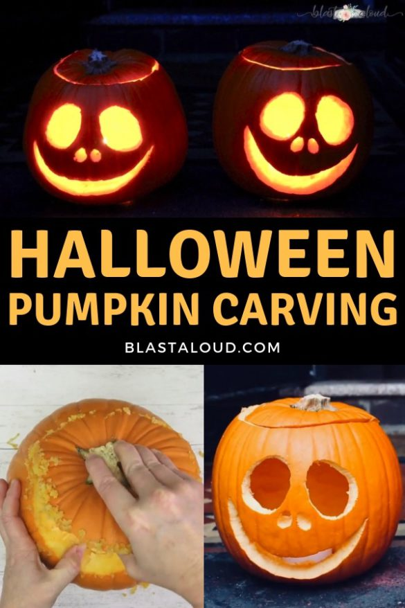 DIY Halloween Pumpkin Carving Tutorial
