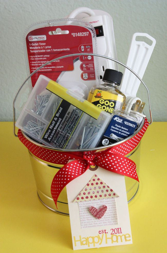 DIY Gift Baskets For Men: The Handyman Basket