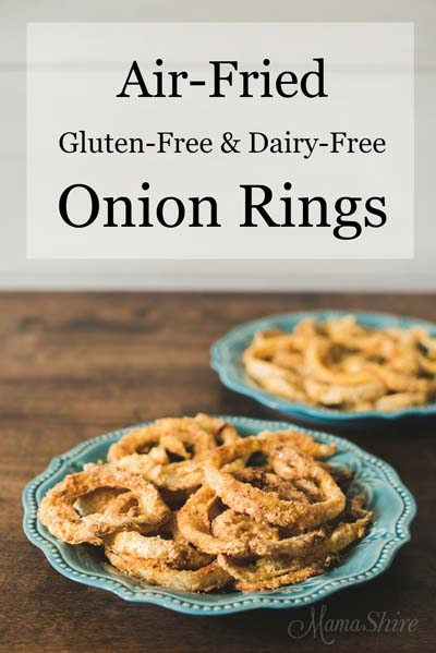 Healthy Air Fryer Recipes: Air-Fried Gluten-Free Onion Rings