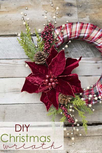 DIY Christmas Wreaths: DIY Christmas Wreath