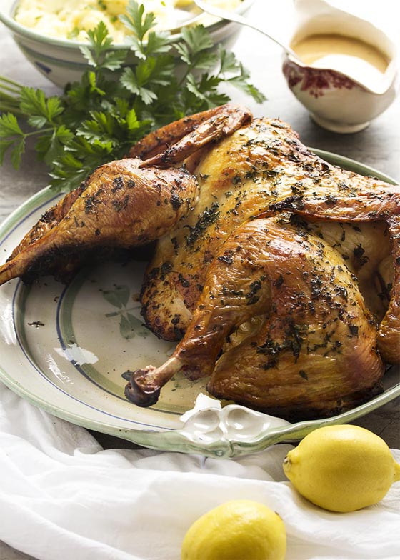 Thanksgiving Turkey Recipes: Grilled Tuscan Style Turkey