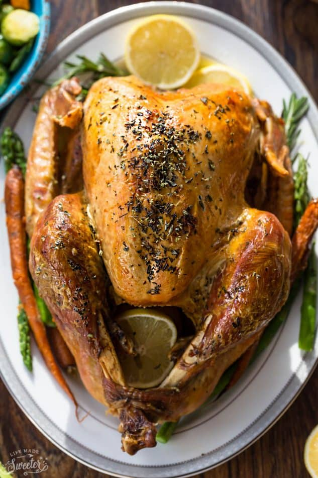Thanksgiving Turkey Recipes: Herb Roasted Turkey