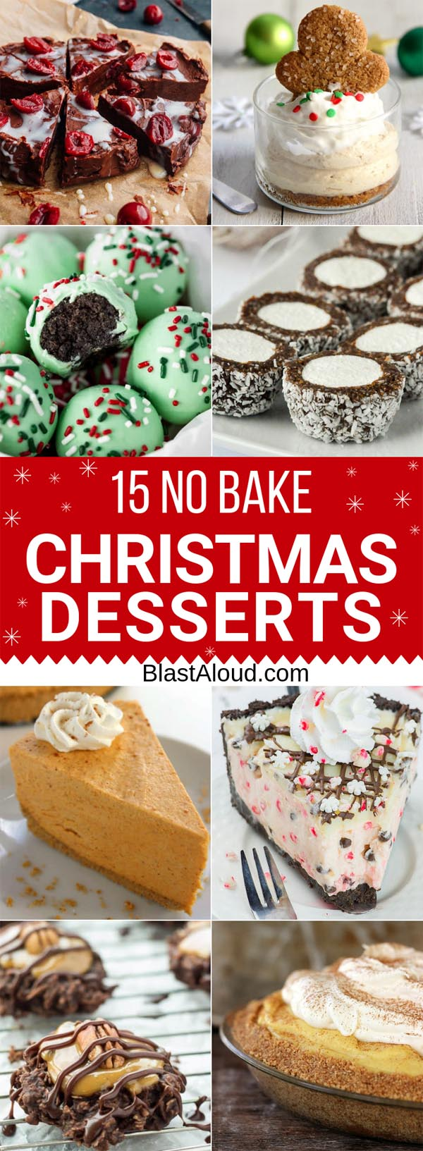 15 No Bake Christmas Desserts That\'ll Become Holiday Favorites