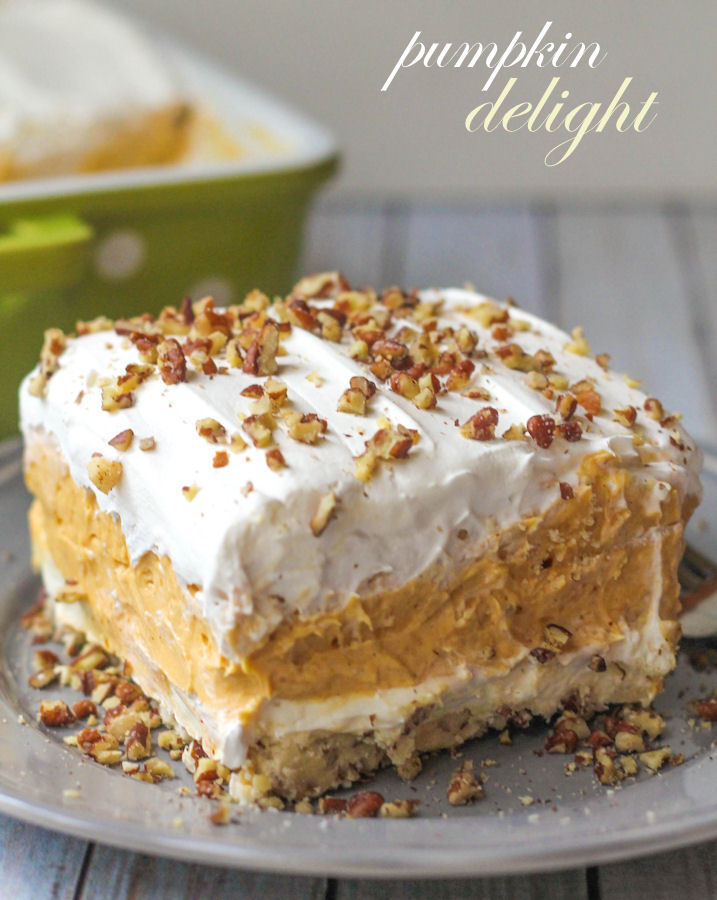 Pumpkin Spice Recipes: Pumpkin Delight