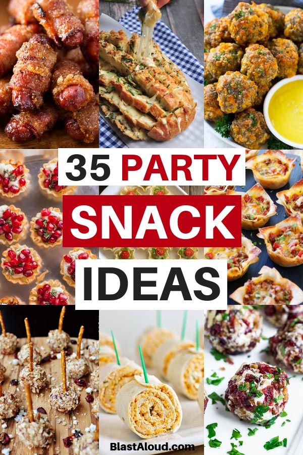 Party Snack Ideas and Party appetizers