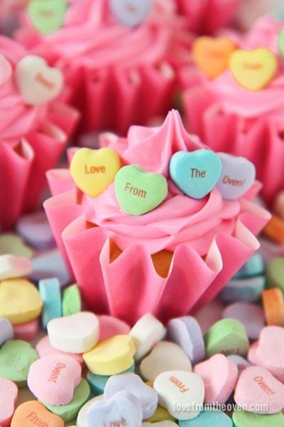Valentines Day Cupcakes and Valentines Desserts: Valentine Cupcakes