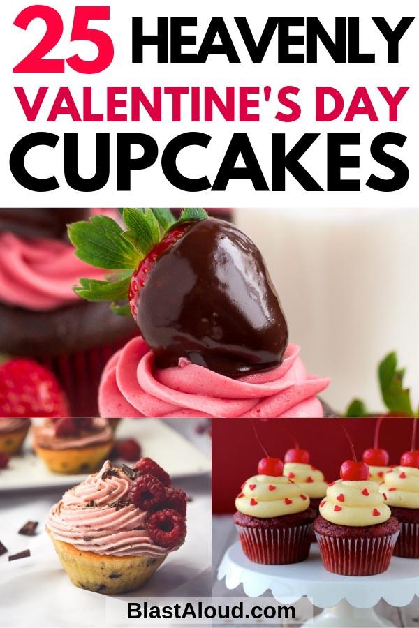 Easy Valentines Day Cupcakes