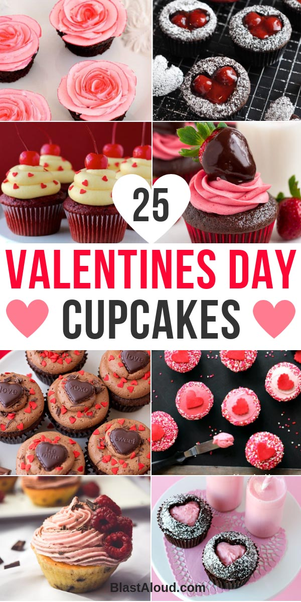 Valentines Day Cupcakes and Valentines Day Desserts