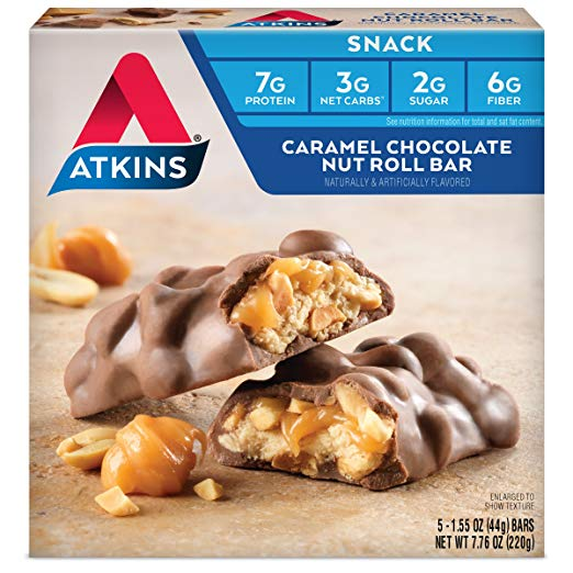 Keto Desserts To Buy: Atkins Snack Bar