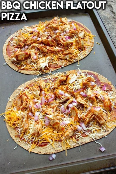 Weight Watchers Recipes With SmartPoints: BBQ Chicken Flatout Pizza