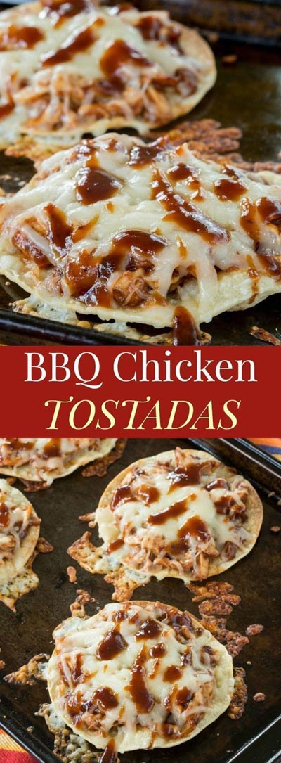 Weight Watchers Recipes With SmartPoints: BBQ Chicken Tostadas