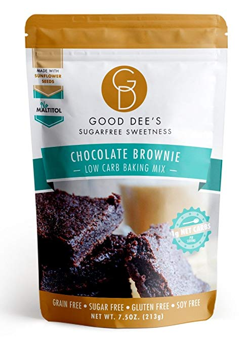 Keto Desserts To Buy: Chocolate Brownie Mix