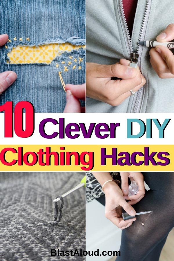 Clever DIY Clothing Hacks