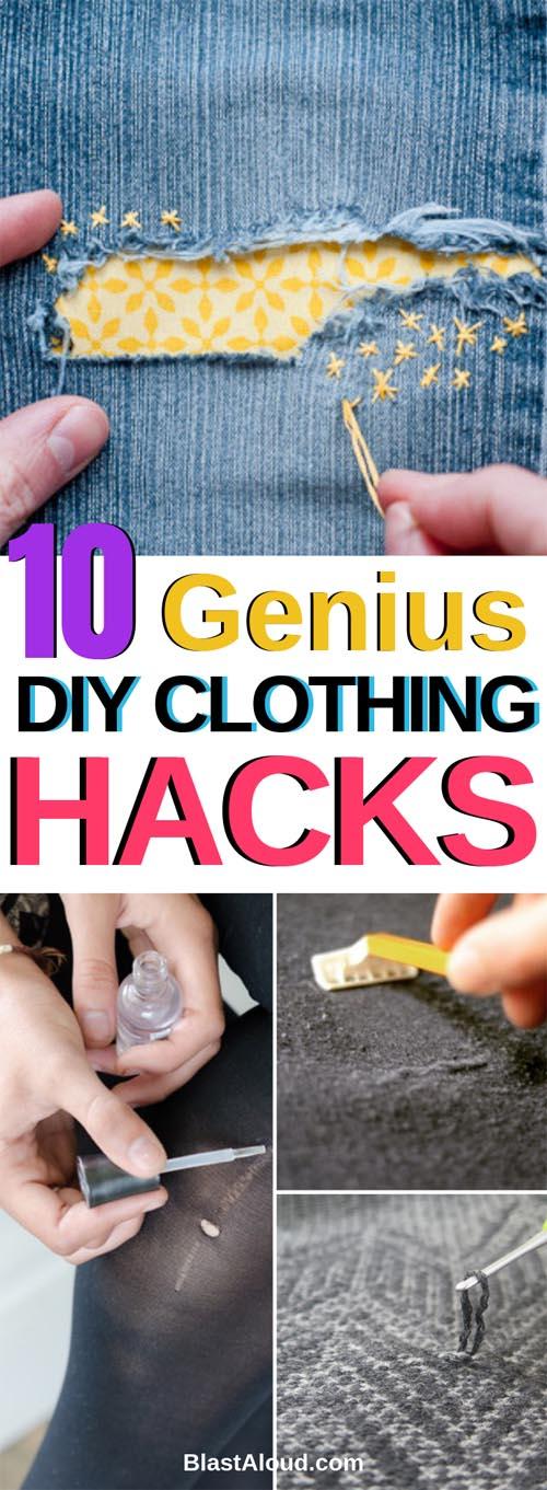 DIY Clothing hacks