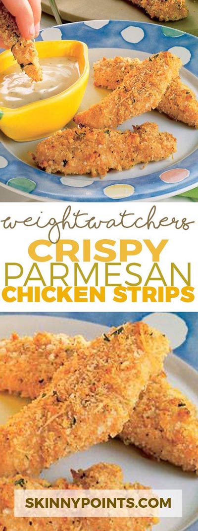 Weight Watchers Recipes With SmartPoints: Crispy Parmesan Chicken Strips