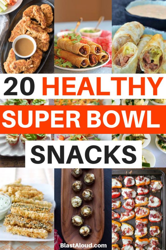 Healthy Super Bowl Appetizers - super bowl party food