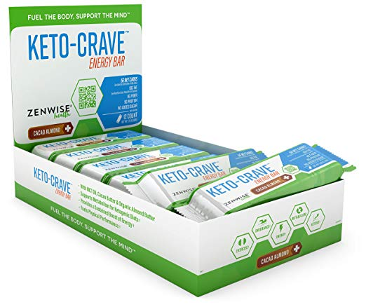 Keto Desserts To Buy: Keto Crave Energy Bar