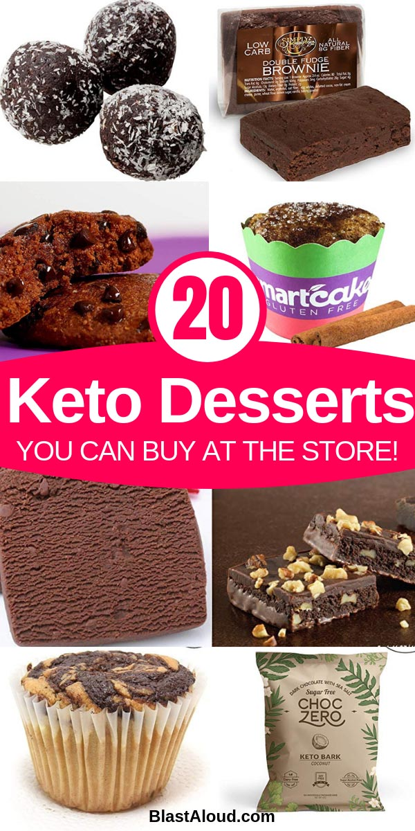 Keto desserts to buy