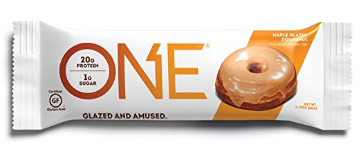 Keto Desserts To Buy: ONE Protein Bar Maple Glazed Doughnut