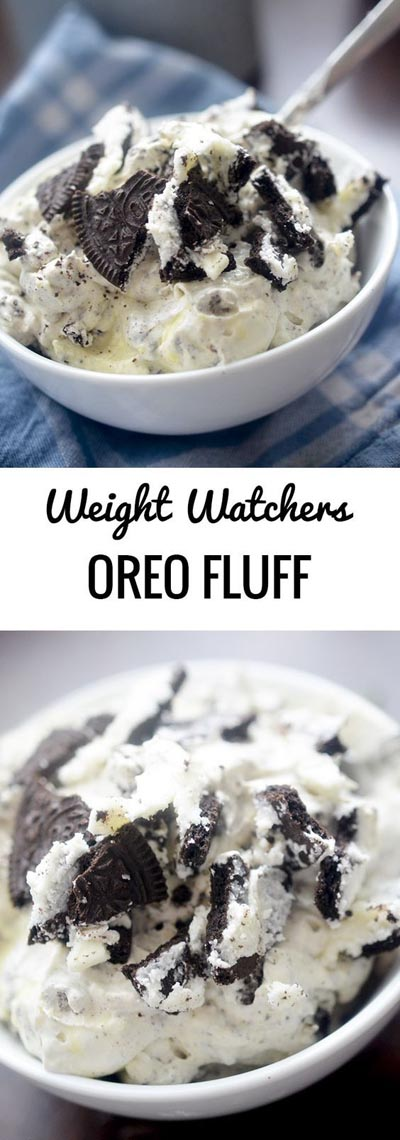 Weight Watchers Recipes With SmartPoints: Oreo Fluff