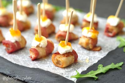 Healthy Super Bowl Appetizers: Spicy Sausage And Bacon Appetizers