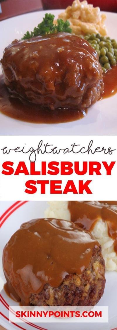 Weight Watchers Recipes With SmartPoints: The Very Best Salisbury Steak