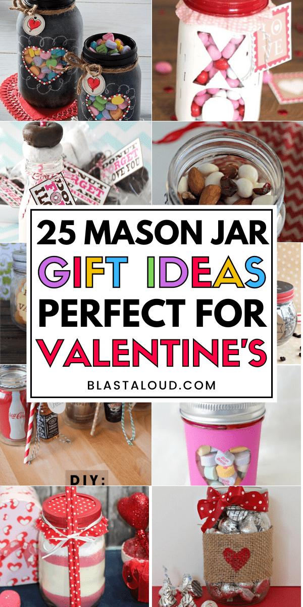 Valentines Mason Jar Gifts
