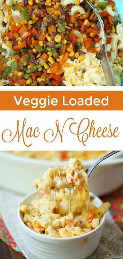 Weight Watchers Recipes With SmartPoints: Veggie Loaded Mac N Cheese