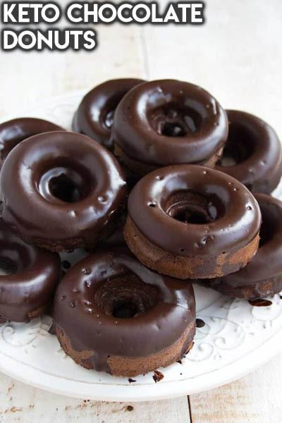 Keto Chocolate Dessert Recipes: Keto Chocolate Donuts