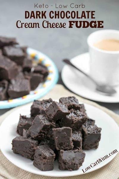 Keto Chocolate Dessert Recipes: Keto Dark Chocolate Fudge