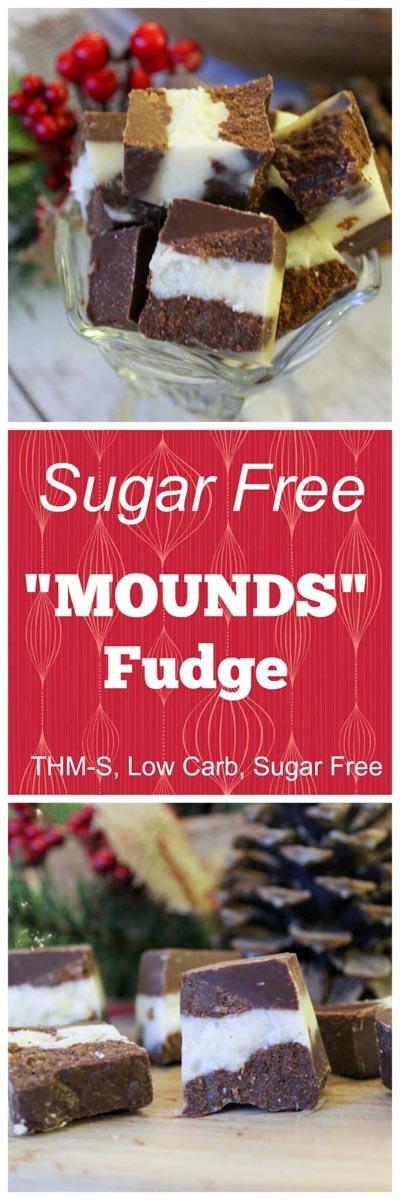 Keto Chocolate Dessert Recipes: Sugar Free Fudge Mounds
