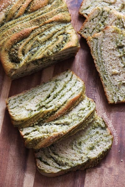 Homemade bread recipes: Braided Pesto Bread