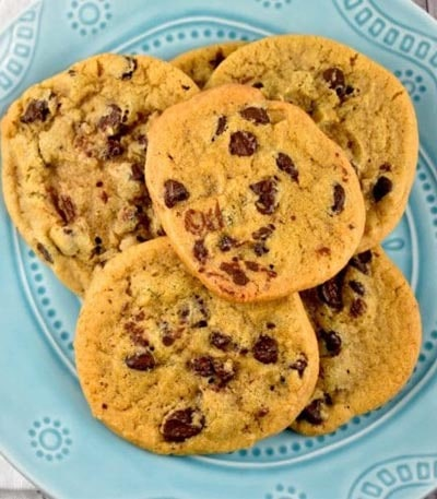 Weight watchers desserts: Chocolate Chip Cookies Recipe - 3 Points