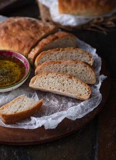 Homemade bread recipes: Ciabatta Bread