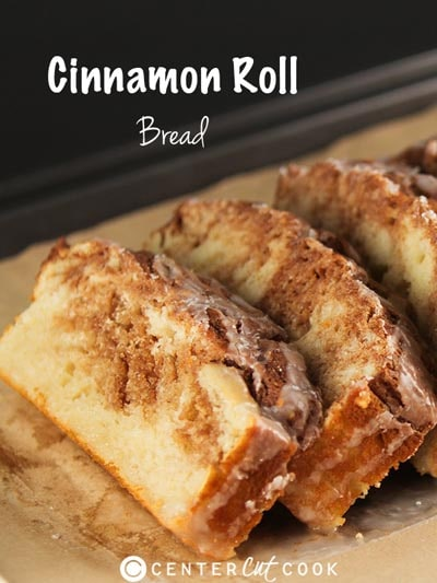 Homemade bread recipes: Cinnamon Roll Bread