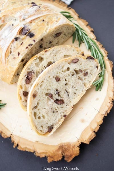 Homemade bread recipes: Crusty Rosemary Olive Bread Recipe