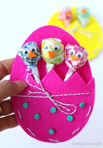 Easter Crafts for Kids: Diy Easter Treat Bags Craft For Kids