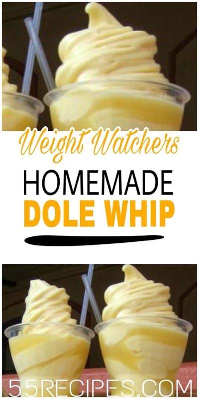 Weight watchers desserts: Dole Whip