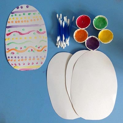 Easter Crafts for Kids: Easter Egg Decorating